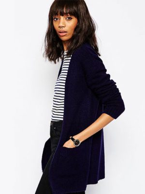 Draped Neck Jacket